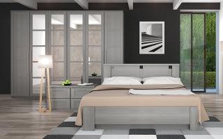 Мебель для спальни — современный и антикварный дизайн
