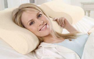 Польза ортопедических подушек при остеохондрозе шейного отдела