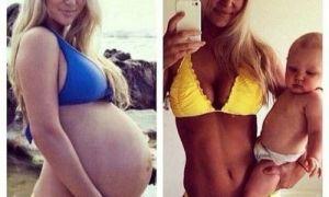 Признаки беременности и как похудеть после родов?
