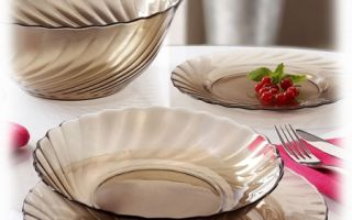 Столовая посуда для ежедневного применения