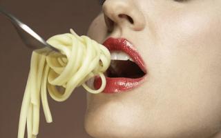 Особенности макаронной диеты