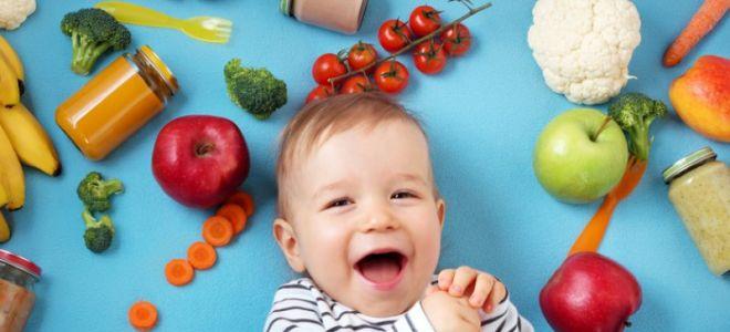 Как кормить ребенка до года