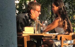 Будни холостяка: Арми Хаммера заметили на свидании с бывшей женой актера Джоша Лукаса