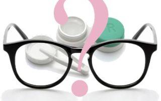 Контактные линзы или очки на заказ?