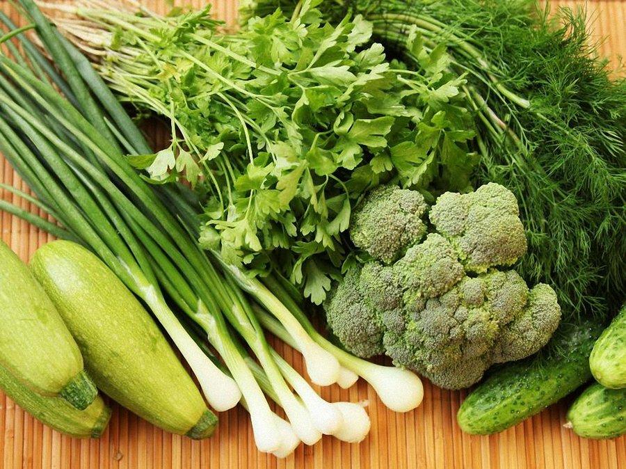 Зачем нам нужны зеленые овощи и фрукты