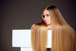 Шелковистые волосы