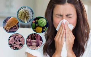 Симптомы аллергии на пыль