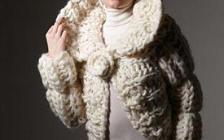 Женская вязаная одежда из европейской пряжи на заказ и в наличии