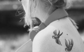 Рисунки тату для девушек: варианты изображений