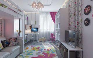 Оформление детской комнаты в разном возрасте