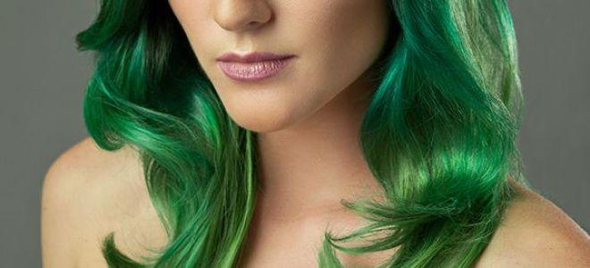 Ваш выбор — зеленый цвет волос