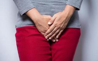 Диагностика недержания мочи у женщин
