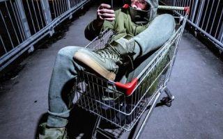 Илья Глинников стал похож на бомжа