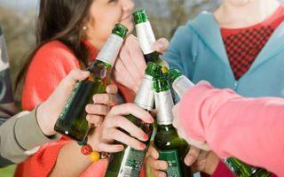 Алкоголизм у подростков