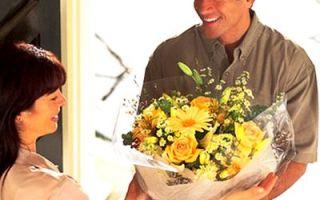 Оформление доставки цветов на нашем сайте в Интернете