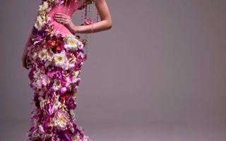 Цвета вечерних платьев
