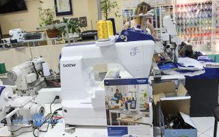 Вышивка с помощью специализированных швейных машин