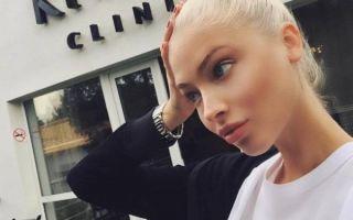 Алена Шишкова опять отправилась чистить свой организм