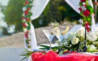 Нюансы при организации свадебного банкета