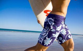 Универсальная пляжная одежда — классические шорты