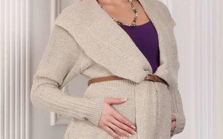 Выбираем тёплые вещи для будущей мамы