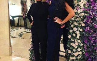 Вера Брежнева с мамой поддержала дочку на модном показе